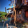 The Mud Monster captured the beautiful Forest Fairy and is hiding her in a magic bubble in the pond beside Mr. Fox's cottage. The Forest Prince is on his way to rescue her, with the help of the Lightening Cloud to guide him.  ~Original size is best~