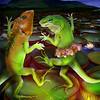 Dancing Lizards