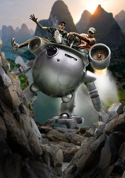 Pirates, Cowboys and Robots